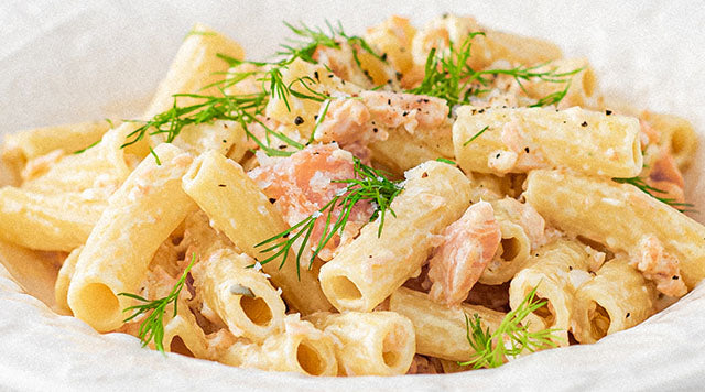 Smoked Salmon Pasta | Alfred Enderby
