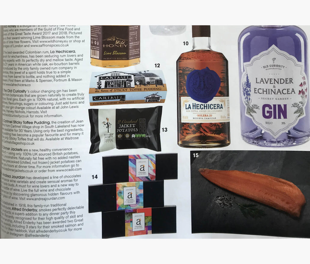 Alfred Enderby Featured In Tatler Magazine