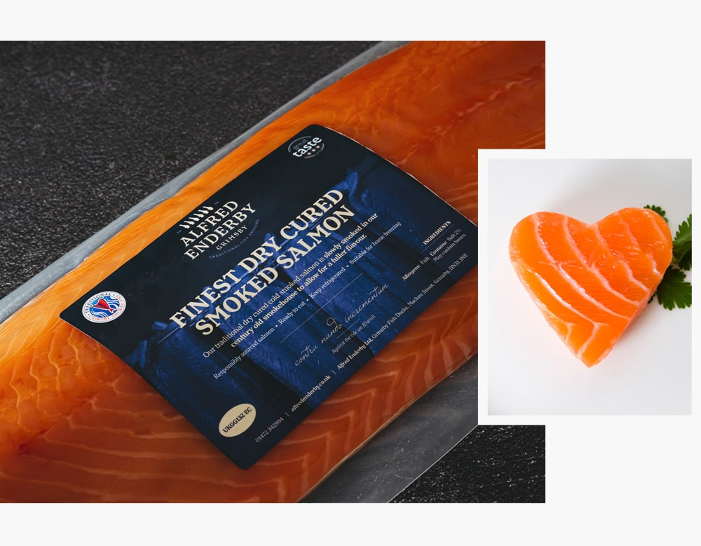 Salmon For Health | Alfred Enderby Traditionally Smoked Salmon