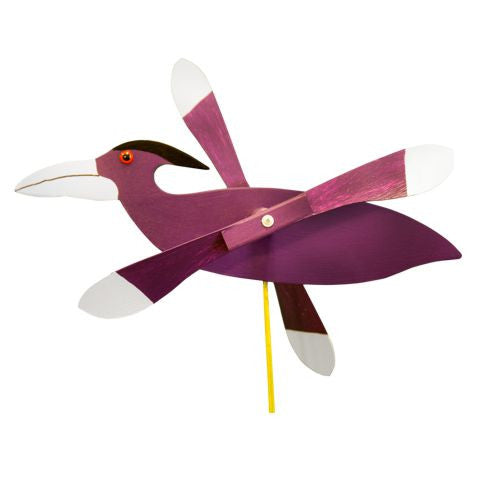 Raven Whirly Bird / Whirligig Wind Spinner
