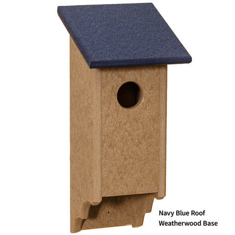 Amish Vinyl Custom Bluebird House