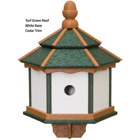 Amish Vinyl 3 Apartment Birdhouse