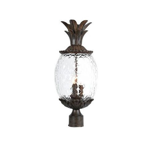 Lanai Pineapple Style Post Lantern