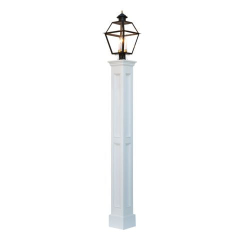 Concord Amish Raised Panel Vinyl Lamp Post