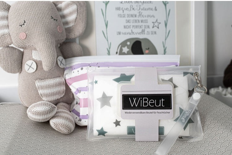 WiBeut®  ( 2 er SET ) Rosa Flieder + STAR