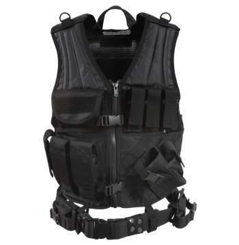 Survivalist HQ Tactical Vest Survivalist HQ Cross Draw MOLLE Tactical Vest