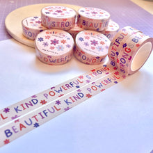 Load image into Gallery viewer, Self Care Washi Tape