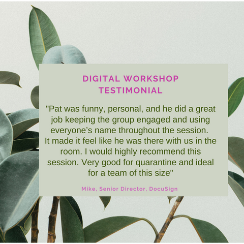 Plant Store Ireland Virtual Workshop Testimonial