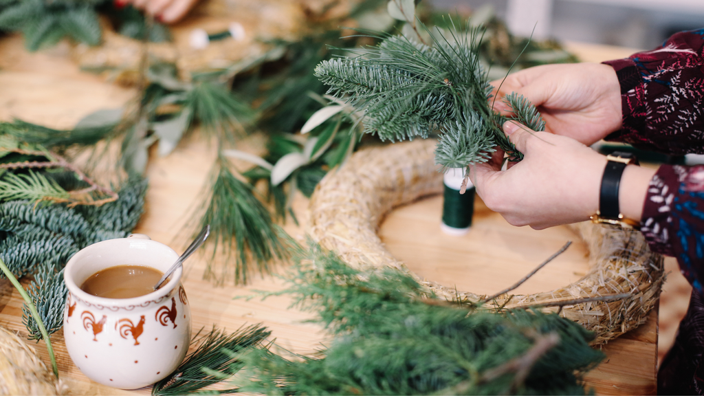 DIY Christmas Wreath Kits for sale online in Ireland