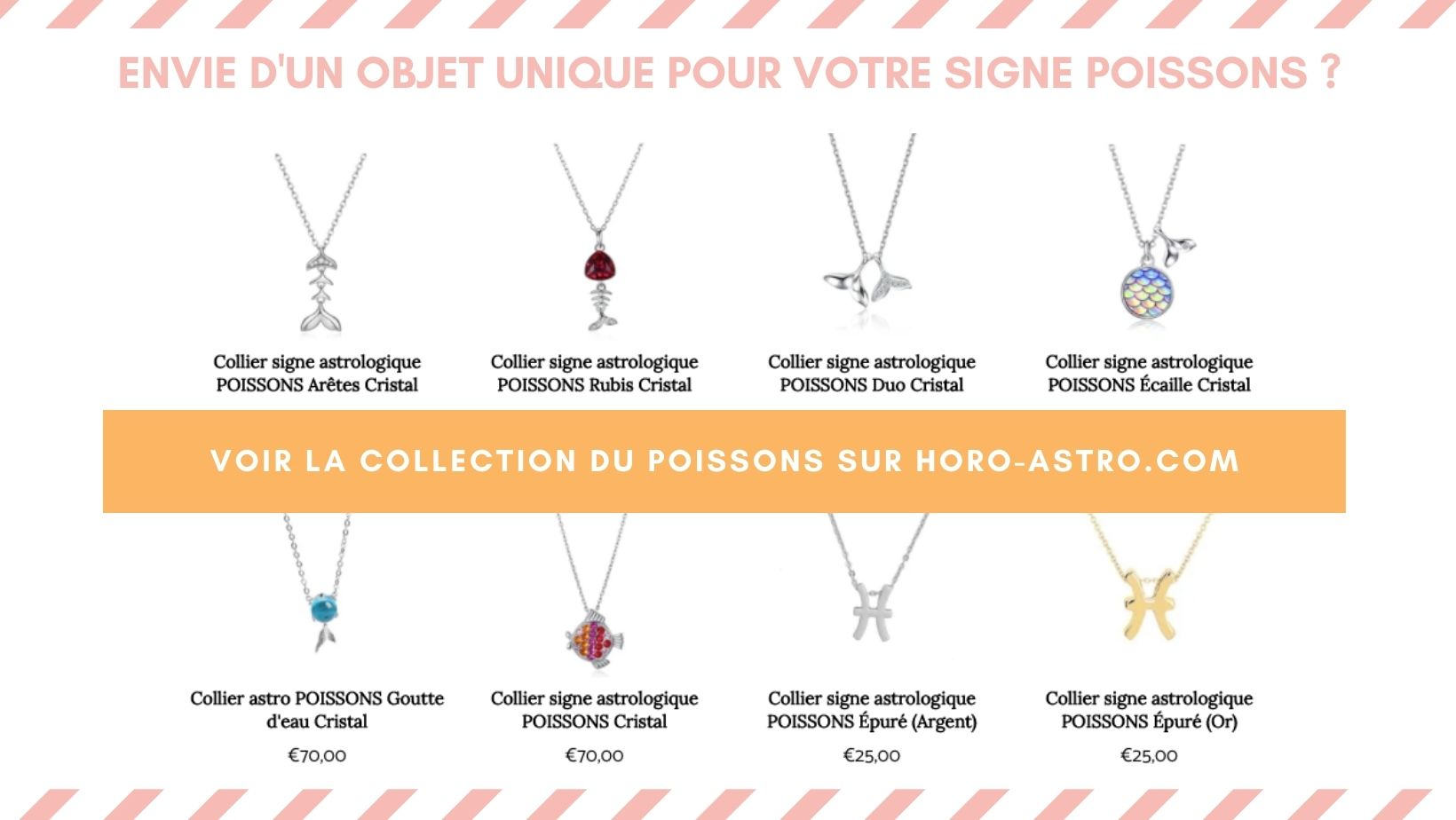 Collection Horo-Astro signe astrologique Poissons
