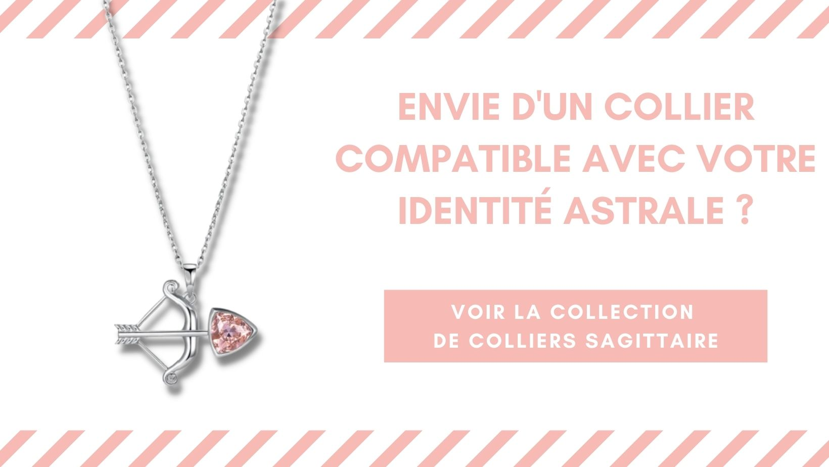 Collection colliers Horo-Astro signe astrologique Sagittaire
