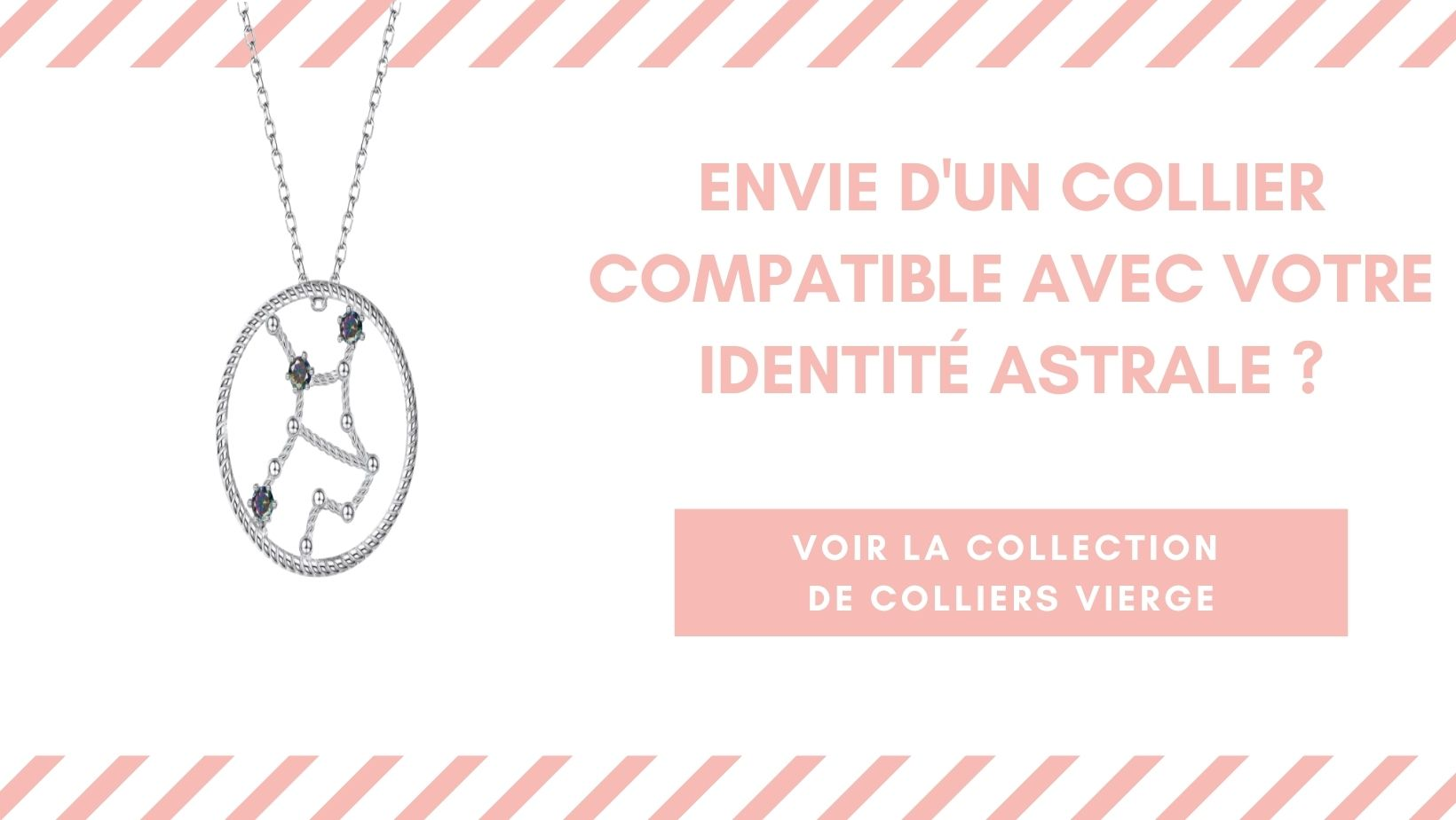 Collection Colliers signe astrologique Vierge Horo-Astro