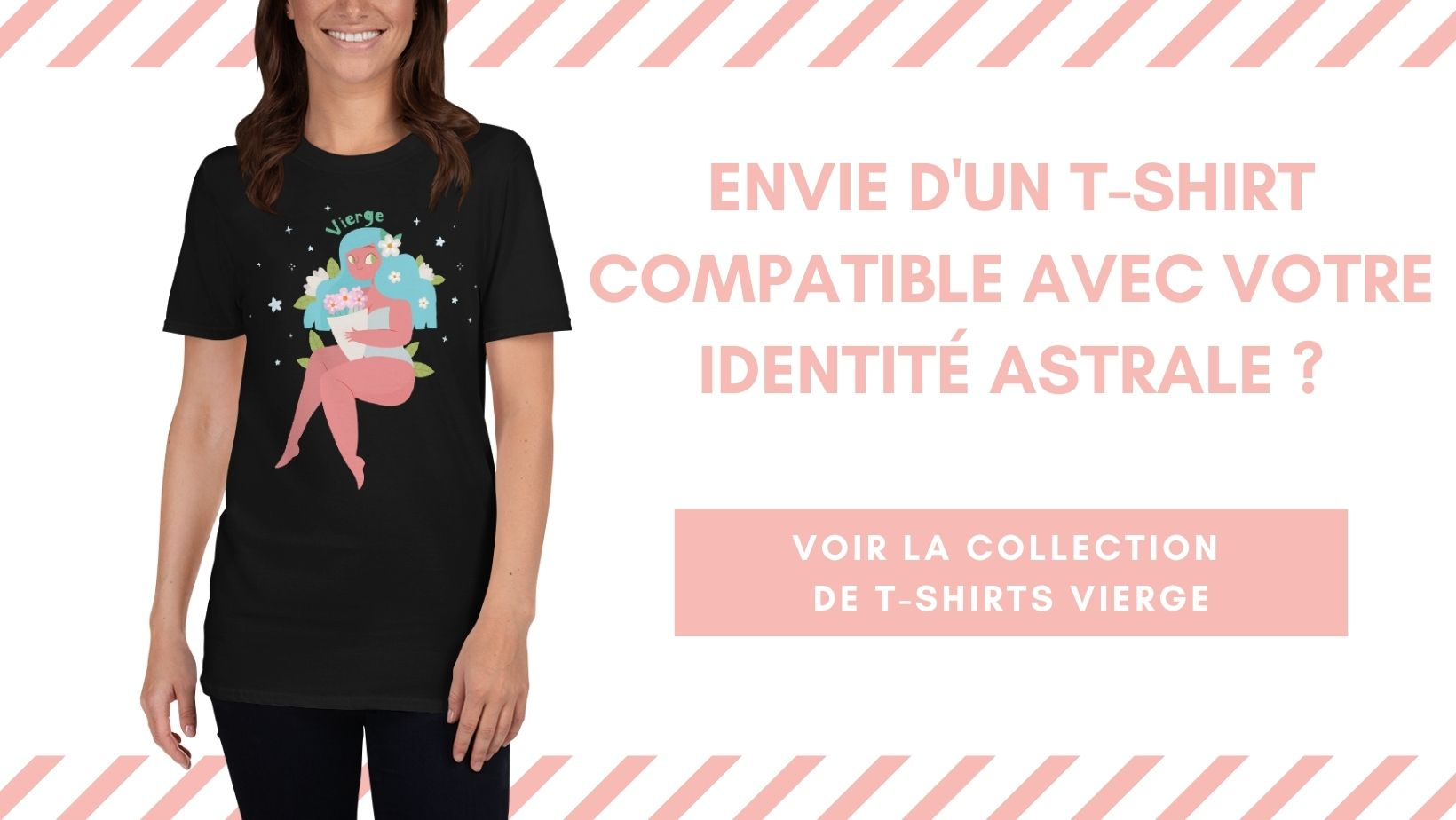 Collection Teeshirts Signe astrologique Vierge Horo-Astro