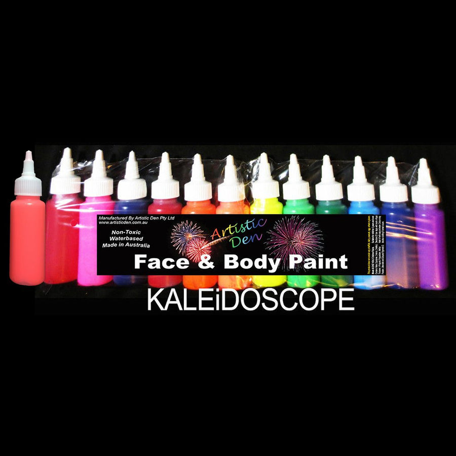 Airbrush Face Paint 13 x 60ml  Kaleidoscope Colours