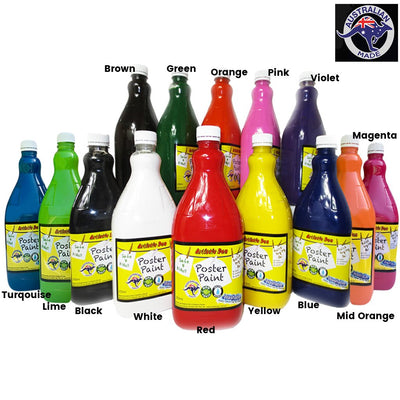 2L & 5L  Kids Washable Paint DIY Your Own Colours + Paint Pumps