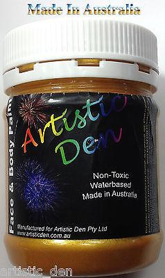 Metallic Face Paint , Gold & Silver by Artistic Den