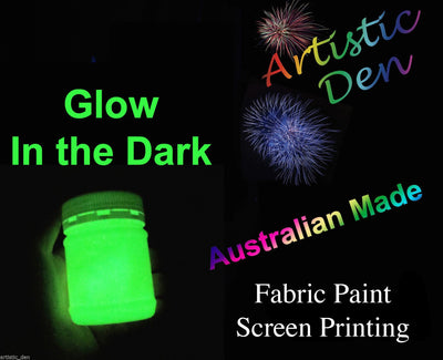 Glow In The Dark  Fabric Screen Printing Ink 15ml- 20kg/L