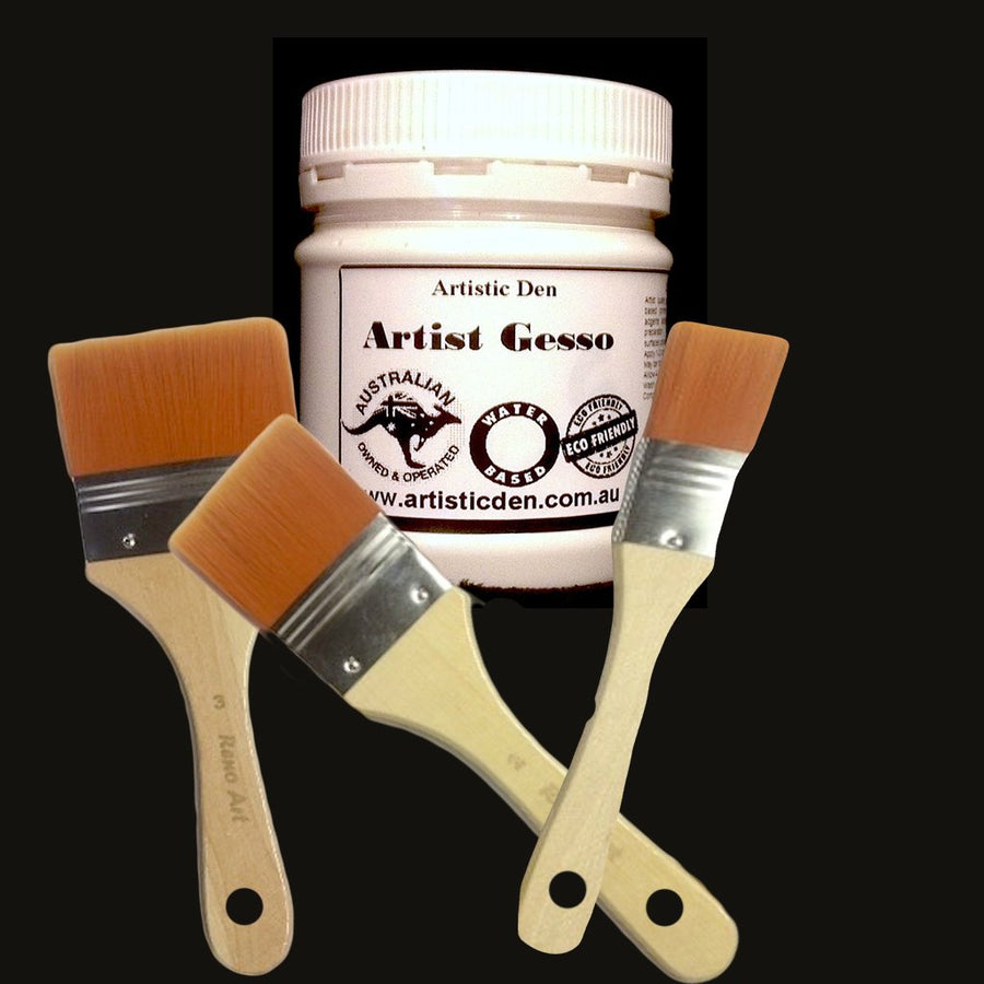 Transparent Artist Gesso Canvas Gesso 250ml-4L Canvas Primer