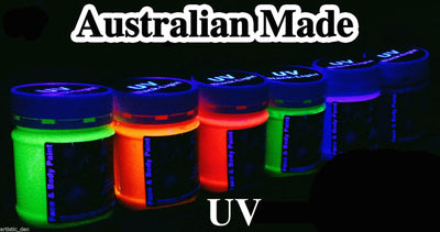 UV Glow Neon Face Body Paint 250ml-1L