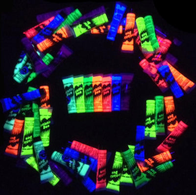 PARTY PACK UV GLOW  Neon Face Body Paint Tubes 280 X 15ml Tubes