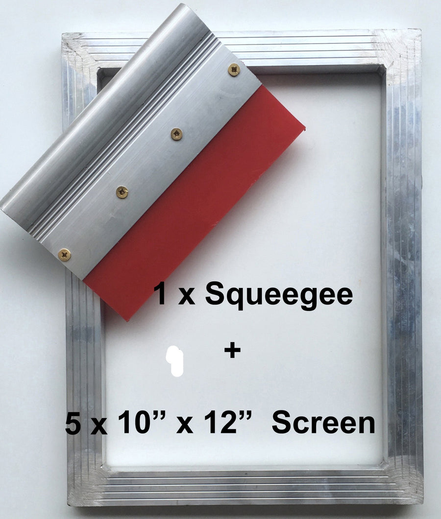 Screen Printing Frames + Squeegee Package
