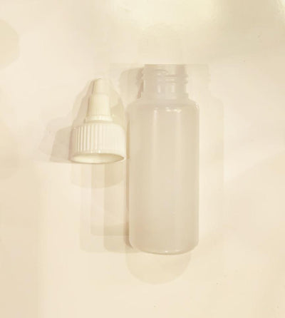 60ml Plastic Bottles HDPE Cosmetic Bottle + Twist Top Lid 24/410
