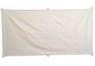 Calico Paintable Art Banner 1m x 2m  Natural