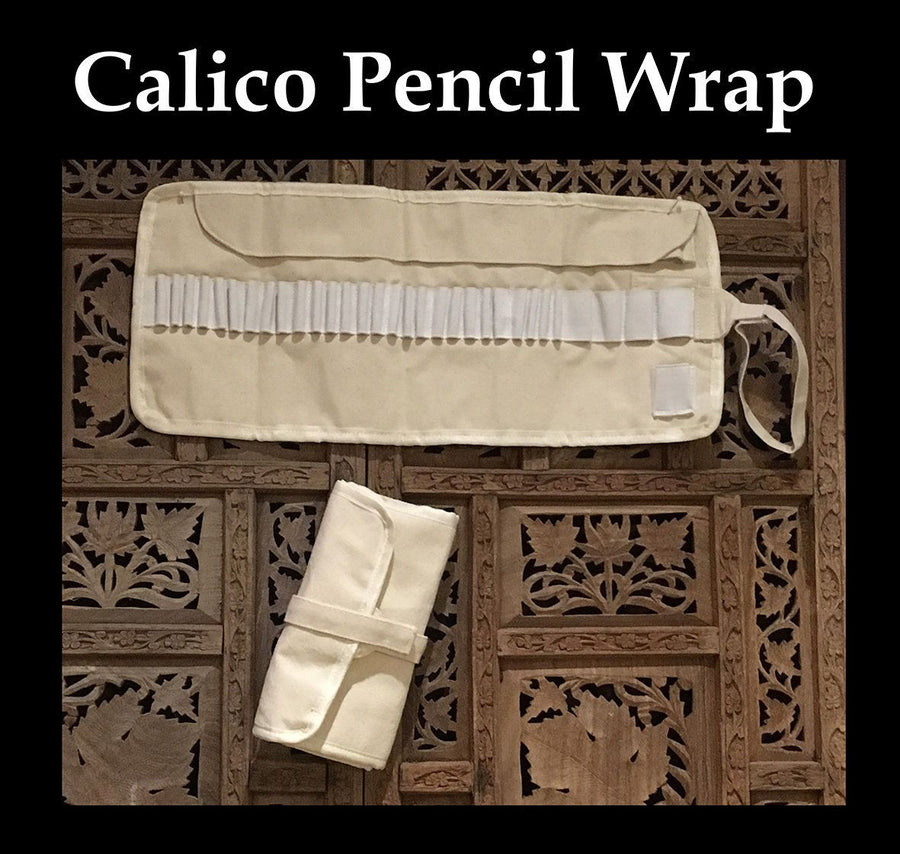 Calico Coloured Pencil Wrap