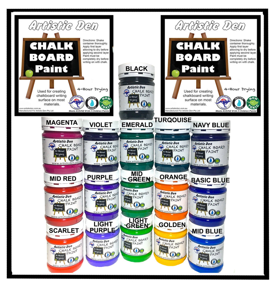 Blackboard Paint Chalkboard Paint Colours