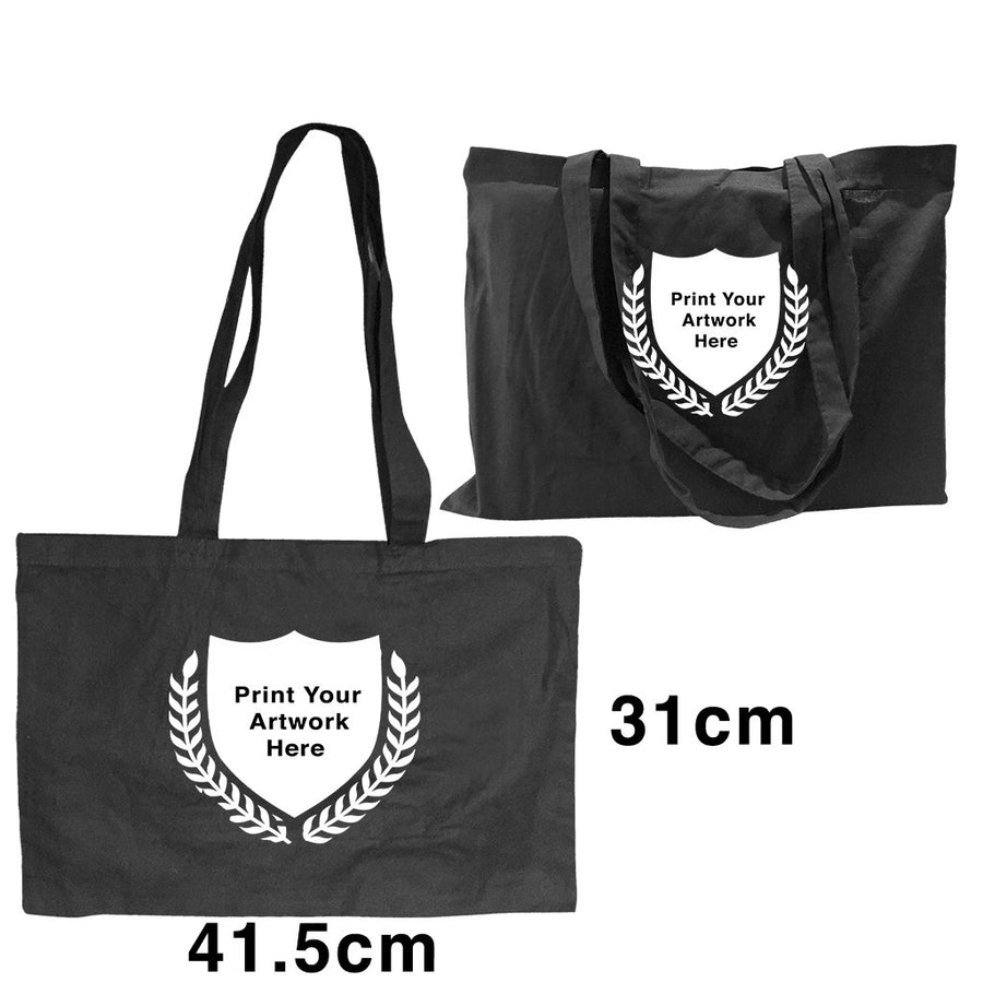Custom Printing Promotional Black Shoulder Bags S5