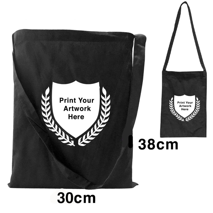 Custom Printing Promotional Black Shoulder Bags S1