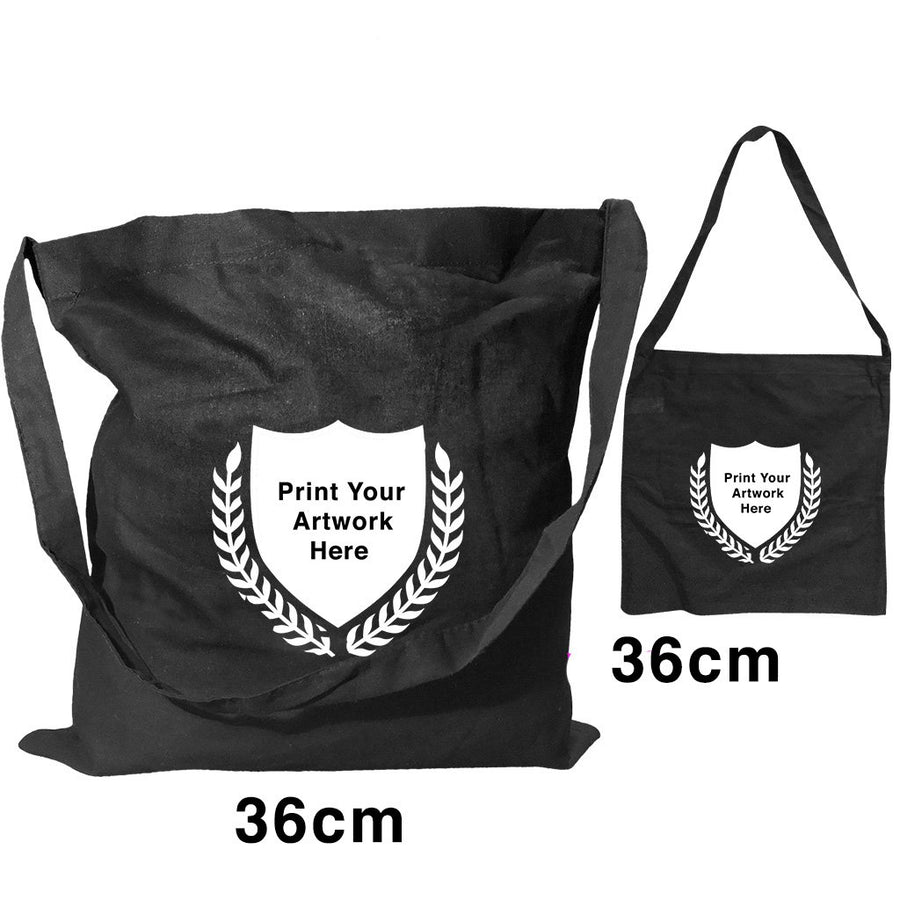 Custom Printing Promotional Black Shoulder Bags S2