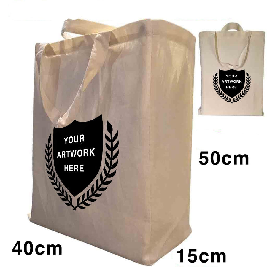 Custom Printing Twin Handle Supper Gusset Bags S3