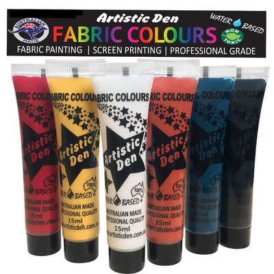 Fabric Paint Set Indigenous  6 x 15ml