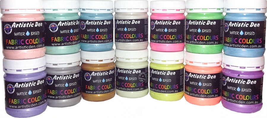 Metallic & Pearl Textile Screen Printing Ink
