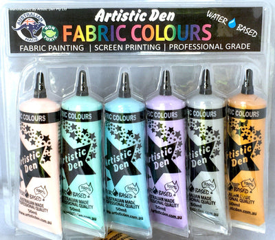 Textile Metallic Screen Printing Inks  6 x (15ml - 250ml)