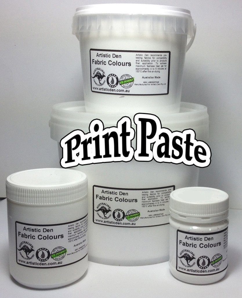 Opaque  Print Paste Base & Reducer Water Based
