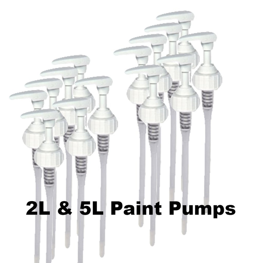 Paint Pumps For 2L & 5L Bottles  38mm Standard Thread