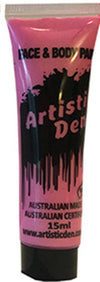 Face Paint & Body Paint Colours 15ml Tube Colours Artistic Den