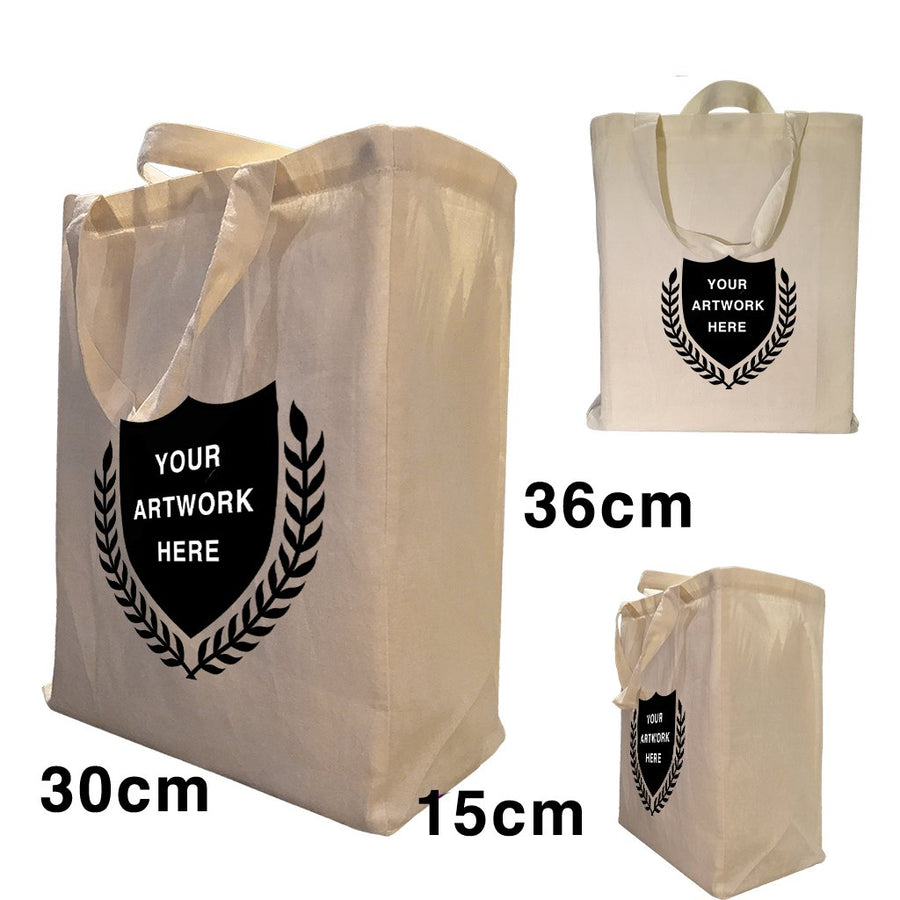 Custom Printing Twin Handle Gusset Bags S2