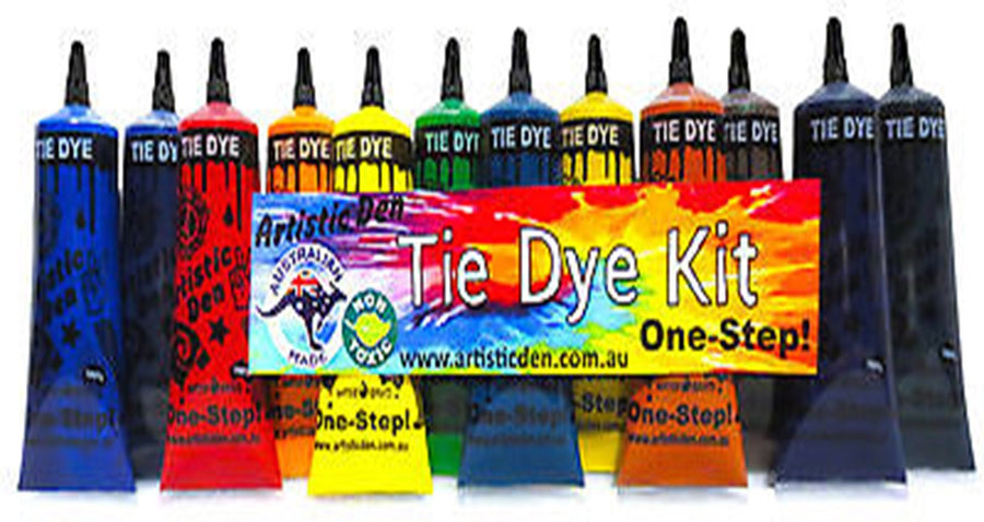 Tie Dye 12 x Colour Kit - Dyes up to 40 Projects - Bulk Tye Dye Set