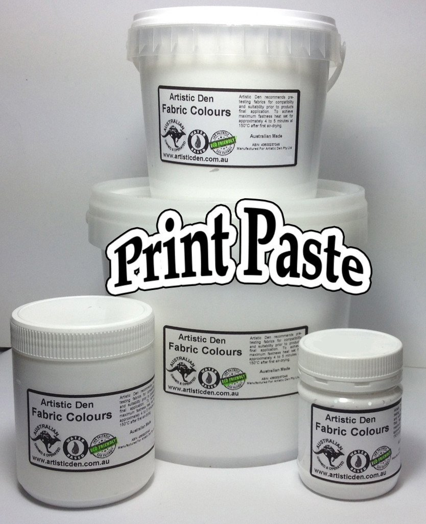Screen Ink Print Paste Base & Reducer