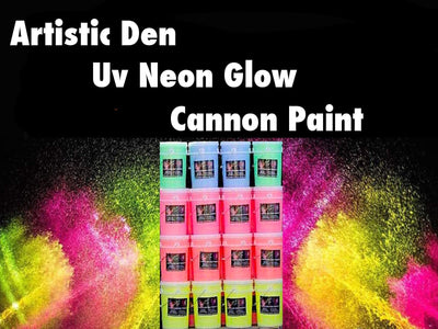 Uv Neon Glow Party Paint, Canon Paint, Super Soaker Gun Paint 20L Buckets