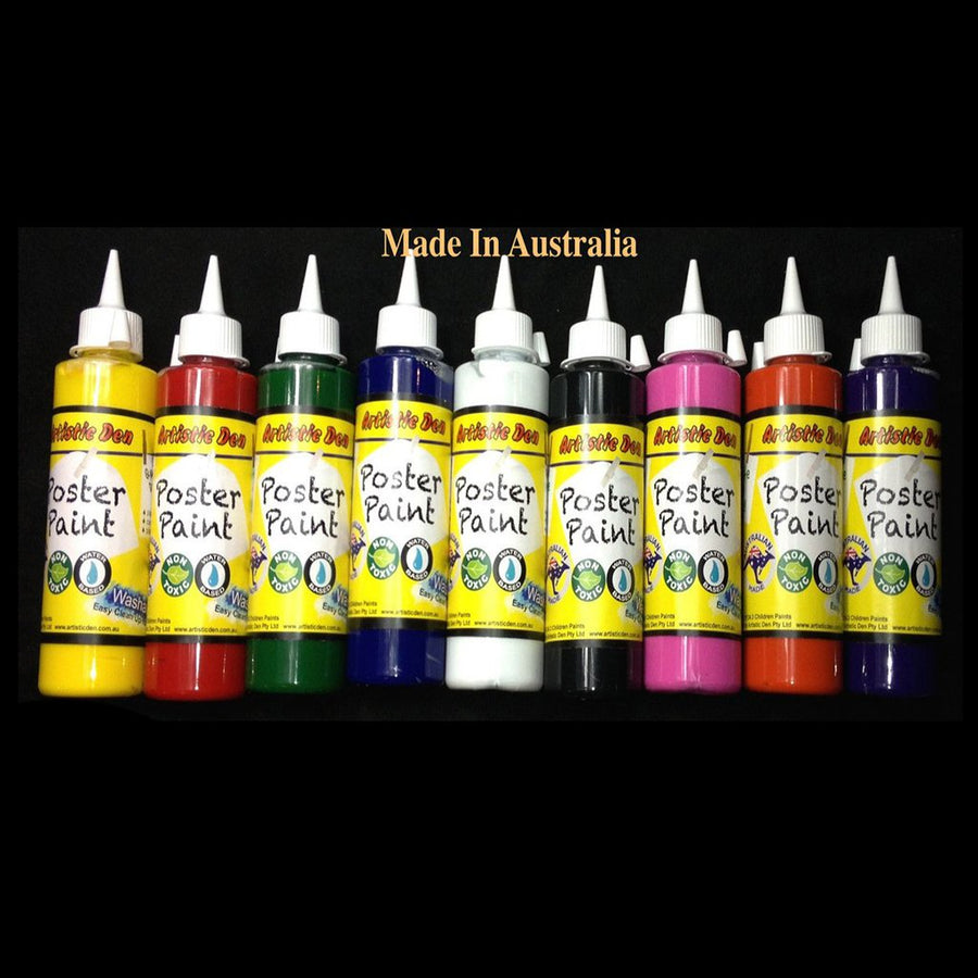 Washable Kids Paint Poster 9 x 250ml