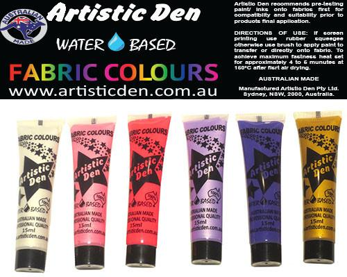 Fabric Paint Set Fantasy  6 x 15ml