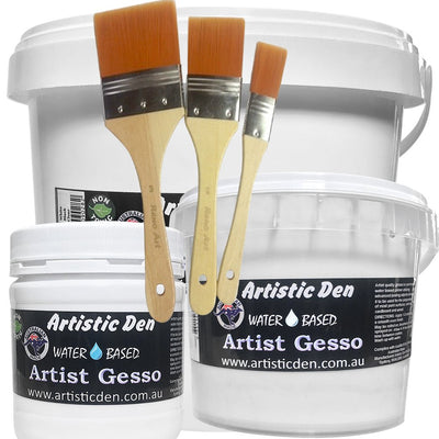 Artist Gesso White 250ml-4L