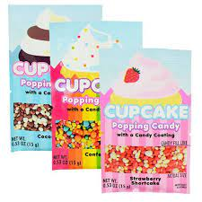 Cupcake Popping Candy (One)