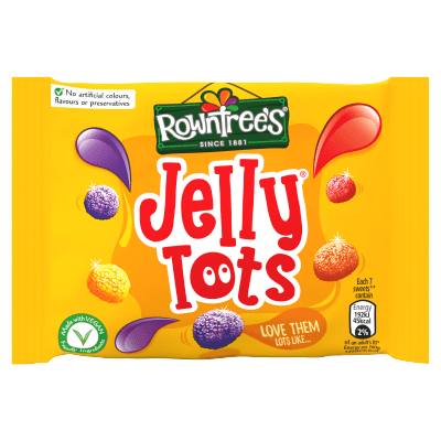 ROWNTREE'S Jelly Tots Sweets Bag 42g Bag