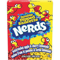 Nerds Double Dipped Flavors Candy 1.65 oz Box