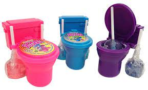 Sour Flush Candy Toilets (One)